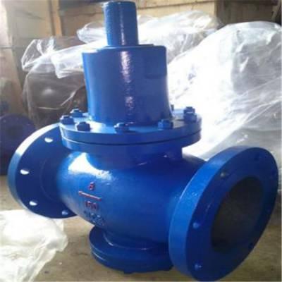 Y42X-64 DN80 薄膜式减压阀 水用铸钢法兰弹簧减压阀 云浮市阀门销售