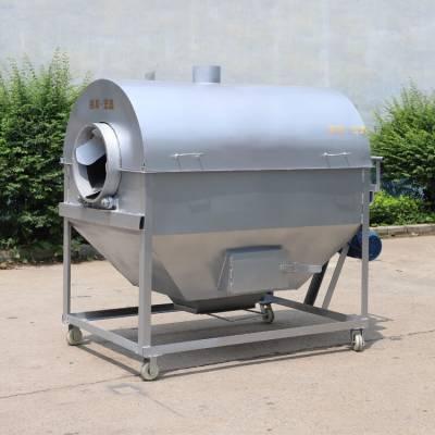 供應花生芝麻電炒鍋 電加熱封閉式炒貨機 大型電加熱滾筒炒貨機