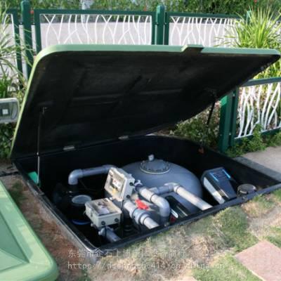 供应地埋式一体化游泳池过滤系统 泳池一体化设备