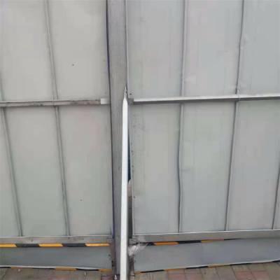 钢结构围挡厂家 园林铁皮围挡 道路彩钢板围挡厂家