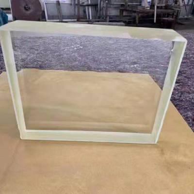 放射科铅玻璃观察窗X光室铅玻璃可以阻挡多少射线