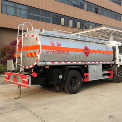 全新东风多利卡8吨油罐车 小型流动加油车价格 随州加油车现车供应