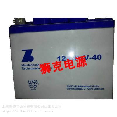 德国ZINSCHE蓄电池2-OPzV-500工业零配件