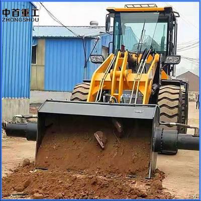 搅拌铲车A939装载机搅拌斗A多功能混凝土搅拌铲斗价格凌