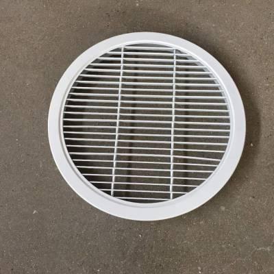 圆型单层百叶风口-铝合金风口-选德州万隆空调型号齐全