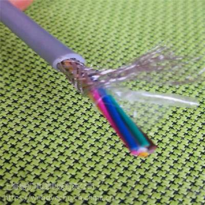 ECHU/易初直销 Li2YCY PIMF 10*2*0.5 镀锡排流,总屏蔽铝箔+镀锡编织电缆