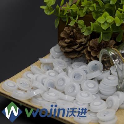 纯铝箔咖啡袋单向塑料排气阀 八边封软包装袋单向排气阀厂家 气动单向阀WJ1901-2PE