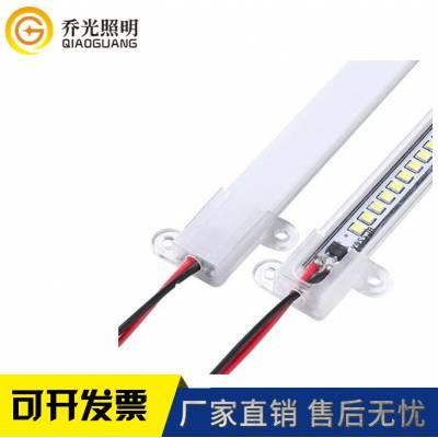 乔光照明12V/24V 5050 72U槽广告灯箱背光户外防水灯LED硬灯条