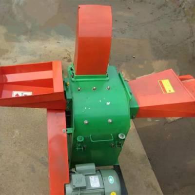 干湿两用秸秆打碎机 麦秸豆秸粉碎机 多功能两相电铡草机