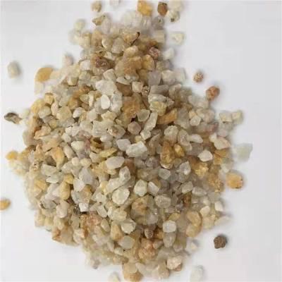 石英砂厂家供应白色石英砂20-40目 喷砂除锈石英砂