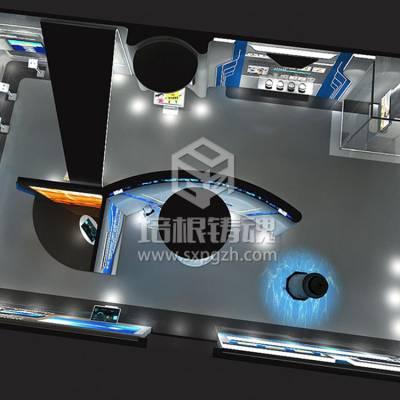 VR虚拟现实普法教育展厅效果图