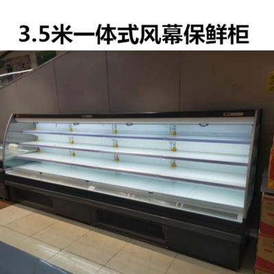蔬果风幕柜厂家 风幕柜价格 风幕柜保鲜 山东超市立式风幕柜