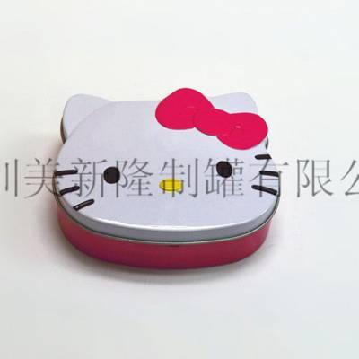 中国香港口香糖包装制作厂家 深圳美新隆制罐供应
