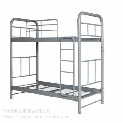 上海港出口铁艺双层床 学生公寓上下床