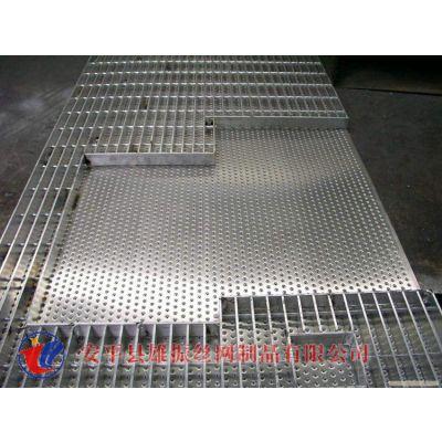 热镀锌平台格栅现货 复合钢格板批发商