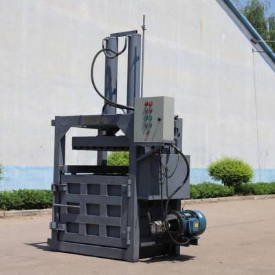 40噸電機帶動廢紙打包機 棉被無紡布壓捆打包機 廢鐵銷壓縮機