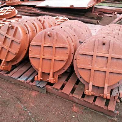 优质拍门厂家-dn300铸铁圆拍门型号及参数