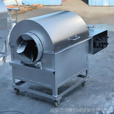 炒板栗機 全自動溫控滾筒炒貨機 全自動新型芝麻炒貨機