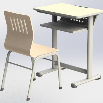 长方形课桌椅