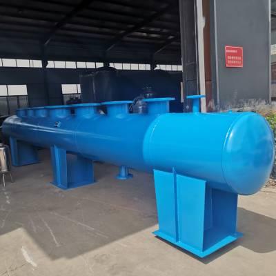 西安分气缸集水器定制 空调系统大型分集水器 高层供水分集水器
