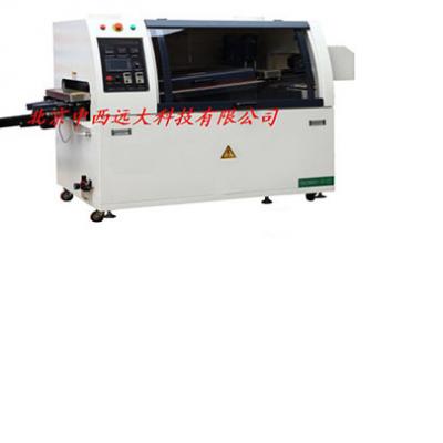 中西SYH供型号:200MB-LF 无铅触摸屏全自动单波峰焊锡机