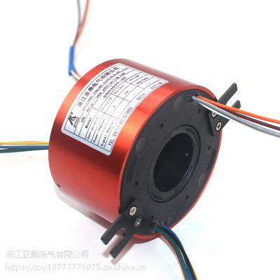 亚鼎电气过孔滑环SRH-3899多通道多规格旋转导电环集电环轴用滑环过电环回流环