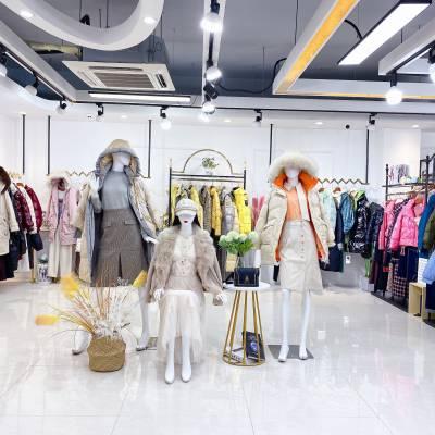 杭州******【迪笛欧】21冬装 女装品牌折扣走份批发 直播+实体货源