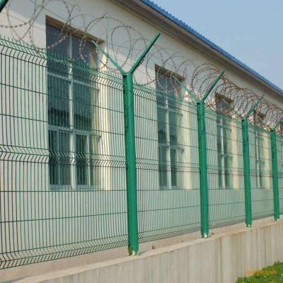 吉木乃县护坝铁丝网-厂区车间围栏网厂-公园框架护栏网厂