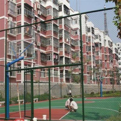 篮球场围栏网护栏网厂家施工 五人制足球场围栏高度
