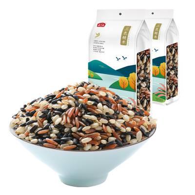 五谷杂粮贴牌 糙米批发 三色糙米批发
