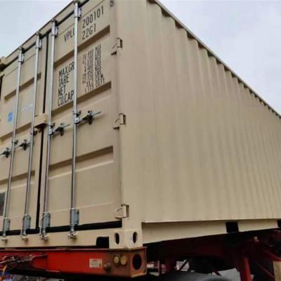 全海 玉林平柜二手集装箱 集装箱仓库 直销退役集装箱