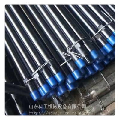 地质钻机用89圆钻杆 井下泥浆输送地质钻杆 圆钻杆性能特点