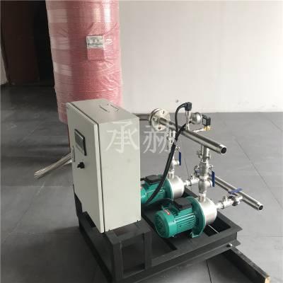 无负压供水设备二次加压变频供水设备不锈钢立式多离心泵稳流罐 24L稳压罐