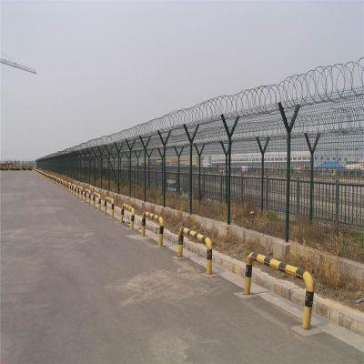 带底盘防护栏 ***金属网墙 边界隔离网