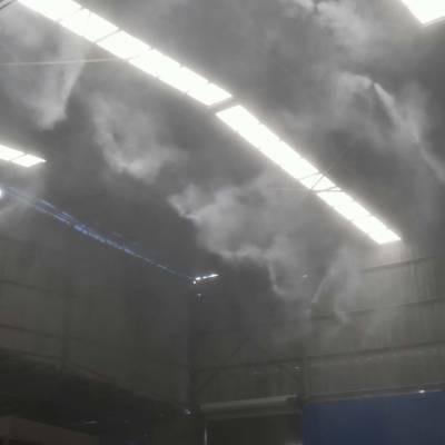 昆明 车间喷淋喷雾设备 砂石场喷淋降尘 价格