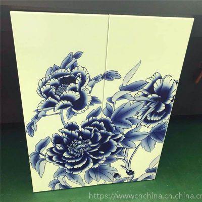 3d打印铝单板厂家 彩绘铝单板装饰效果