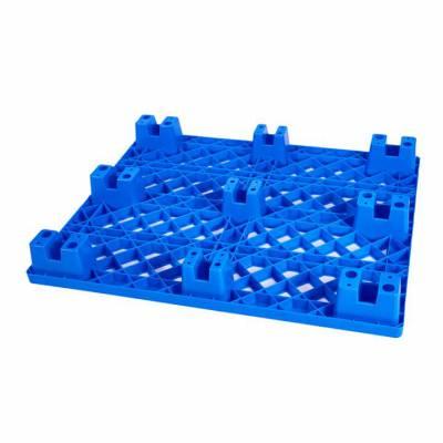 吹塑九脚塑料托盘生产家 塑胶卡板