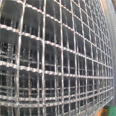 加工厂工作格栅板 提炼厂踏步格栅板 栈桥踏步板