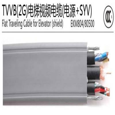 易初供应国标电梯监控专用电缆 电梯视频线 TVVB2G