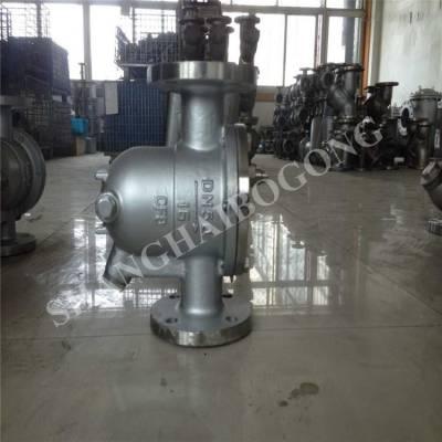 上海渤工 碳钢疏水阀 CS41H-25C DN200 浮球式疏水阀 自由浮球式法兰连接