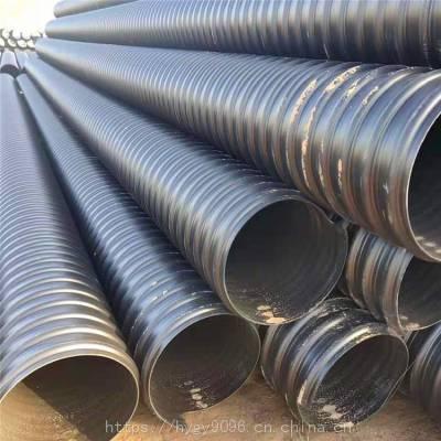HDPE钢带增强波纹管环刚度高质量好价格实在