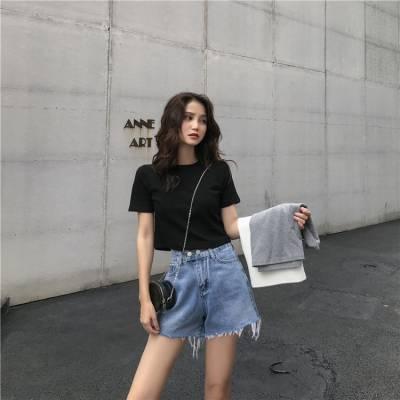 山西太原衣服批发城出口刺绣女牛仔短裤 老过直筒女牛仔短裙中高端新款货源批发