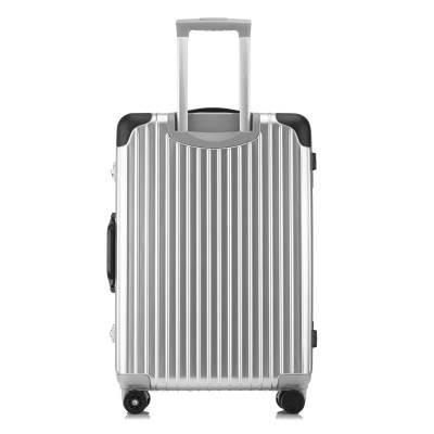 复古款铝镁合金拉杆箱金属旅行箱万向轮行李箱定做