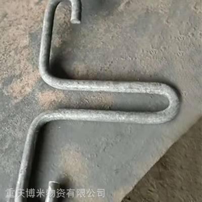 建筑固定管道用U型螺 20*550电力管道固定夹 维护方便 九龙坡区批发