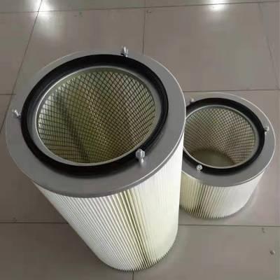 福顺康销售三螺丝吊装除尘滤芯 除尘滤筒除尘设备滤芯厂家
