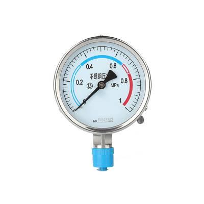 河北邢台广宗YEJ-121矩型接电压力表-绝压压力表指针显示,稳定性能高