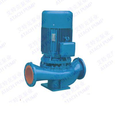 立式清水管道泵-低噪音管道泵-低转速管道泵-水泵厂家