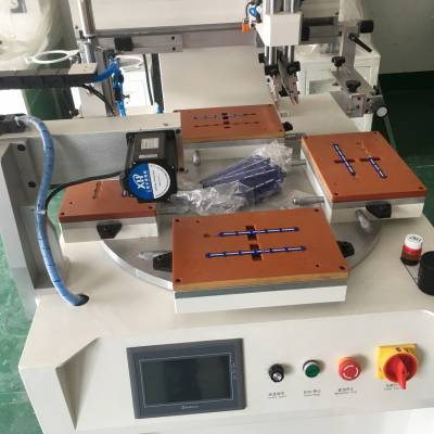 钢化玻璃丝印机厂家亚克力镜片移印机玻璃器皿丝网印刷机自动