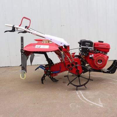 柴油四驱小型微耕机 农用自走式微耕机 手把可旋转翻地除草机