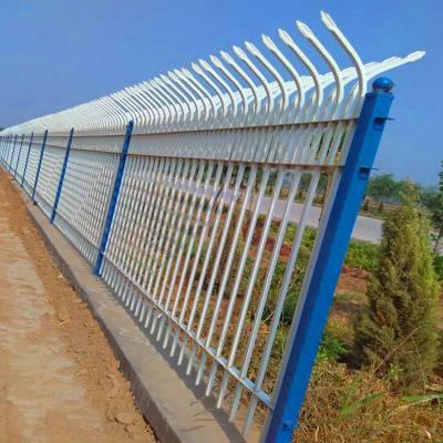 锌钢护栏 别墅围墙锌钢护栏 工地防护锌钢护栏